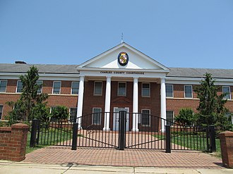 La Plata, Maryland - Charles County Courthouse