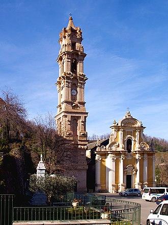 Église Saint-Jean-Baptiste de La Porta - Image: La Porta St Jean Baptiste 1