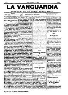 La Vanguardia - Numero 1.jpg