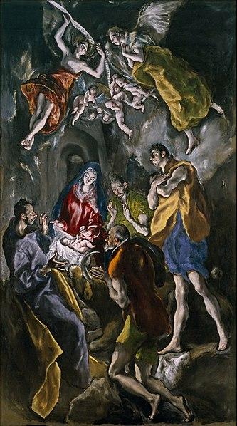 File:La adoración de los pastores (El Greco).jpg