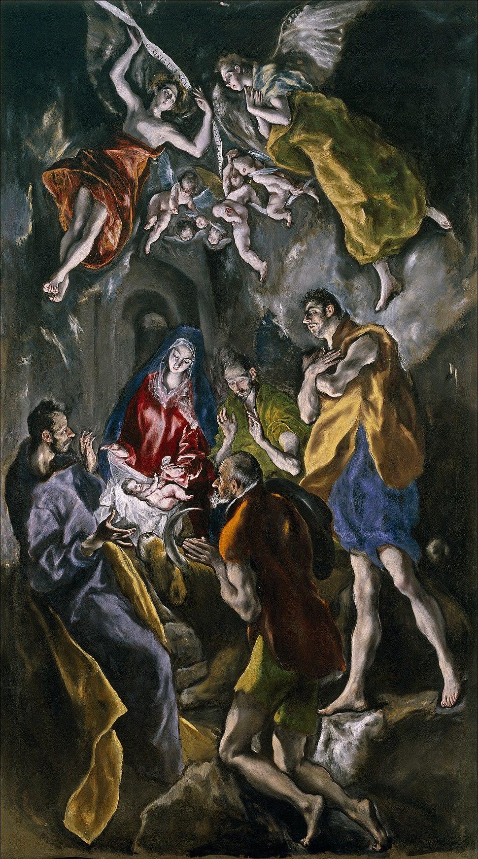 La adoración de los pastores (El Greco)