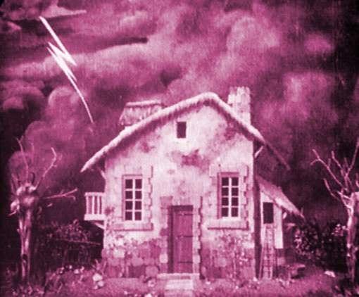 La casa hechizada (1906) de Chomón