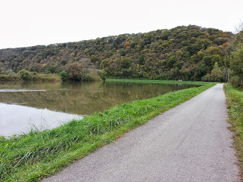 La vélovoie, vers Appenans (Doubs)