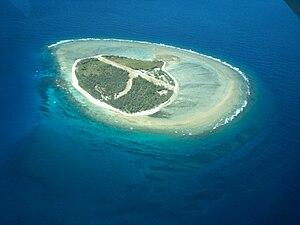 Lady Elliot Island - Lady Elliot Island as seen from the air
