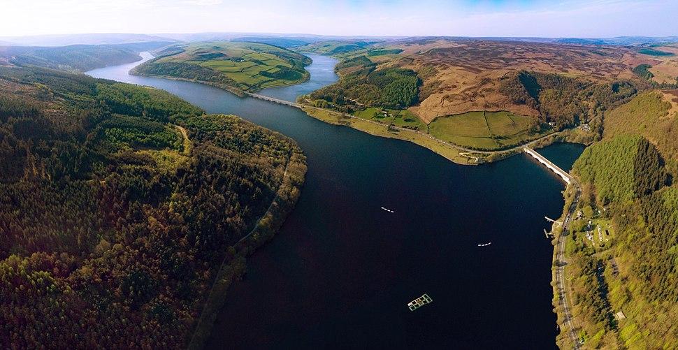 Ladybower Reservoir From Above