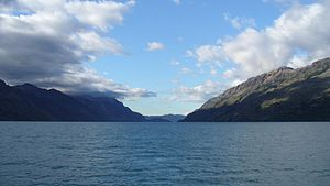O'Higgins/San Martín Lake - Image: Lago O'Higgins 3