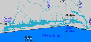 Ébrié Lagoon lagoon in Côte dIvoire