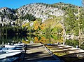 Lake George Sunrise, Mammoth Lakes, CA 9-16 (32044527962).jpg