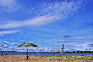 Lake Lukomlskoye - Image: Lake Lukomlskaye