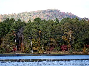 Lake Tillery - Image: Lake Tillery from Morrow Mountain State Park