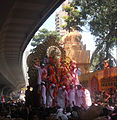 Lalbaugcha Raja on its way for viserjan.JPG
