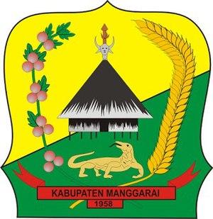Manggarai Regency - Image: Lambang Kabupaten Manggarai