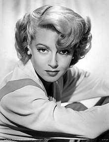 Portrait of Lana Turner in the 1940s