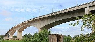 Lanang Bridge - Image: Lanang Bridge