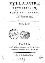Landais - Syllabaire Republicain, 1793.djvu