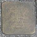 Landshut Stolperstein Wittmann, Gertrud Inge.jpg