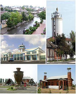 Lankaran Place in Azerbaijan