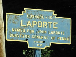 Official logo of Laporte, Pennsylvania
