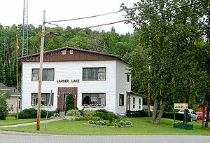 Larder Lake, Ontario - Larder Lake municipal building