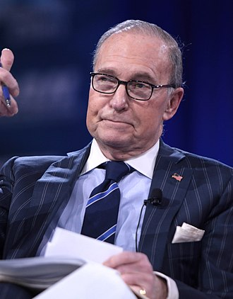 Larry Kudlow - Image: Larry Kudlow (25484250682) (cropped)