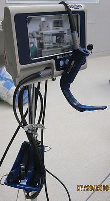 Video laryngoscope [ edit ]