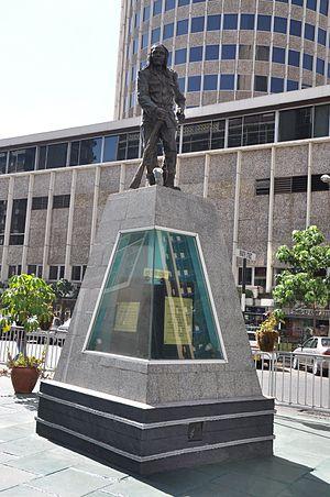 Dedan Kimathi - Statue