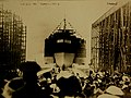 Launch of USS Pennsylvania (BB-38), Newport News, Virginia, 1915 (27897503740).jpg