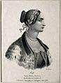 Laura Maria Caterina Bassi. Lithograph by A. di Lorenzo. Wellcome V0000390.jpg