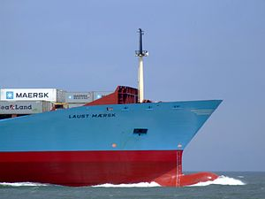 Laust Maersk p07 approaching Port of Rotterdam, Holland 14-Jul-2007.jpg