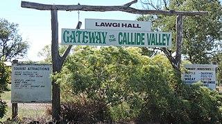 Lawgi Dawes Suburb of Shire of Banana, Queensland, Australia