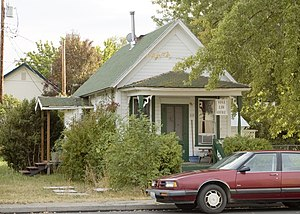 Goldendale, Washington - A house converted to office space.