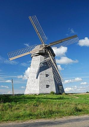 Samogitia - Windmill in Lazdininkai