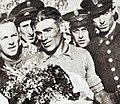Le Belge Gustaaf Deloor, vainqueur de son second Tour d'Espagne, en juin 1936.jpg