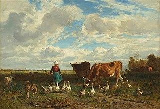 Le Pâturage à la gardeuse d'oies