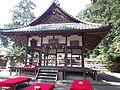 Le Temple Shintô Hiraoka Hachiman-gû - Le haiden (La construction du culte).jpg