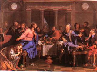 Le Repas chez Simon (Philippe de Champaigne)