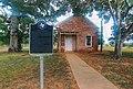Leesville School House with Historical Marker.jpg