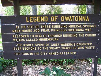 Owatonna, Minnesota - Mineral Springs Park, Owatonna, MN