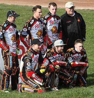 Leicester Lions - Image: Leicester Lions Team 2014