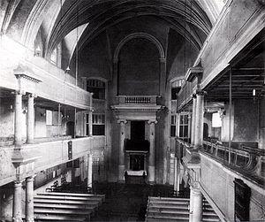 Thomaskantor - Image: Leipzig Alte Peterskirche Innenraum