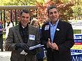 LeisureW-ElecDay 0751 Senate Candidat Roger Manno (left) and District 19 Delegate Ben Kramer. (5140778733).jpg