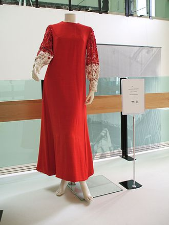 Lenny Kuhr - Lenny Kuhr's 1969 Eurovision Song Contest dress