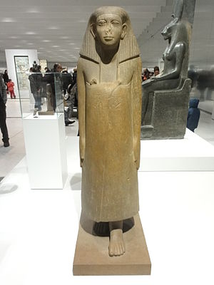 Neferkare Iymeru - Statue of Neferkare Iymeru (Louvre A 125)