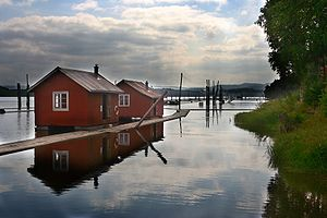 Fet - Logging museum on the water