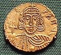 Leo III base gold solidus minted in Rome.jpg