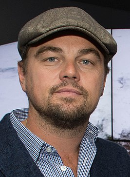 Leonardo DiCaprio visited Goddard Saturday to discuss Earth science with Piers Sellers (26105091624) cropped.jpg