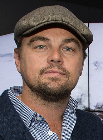 88th Academy Awards - Image: Leonardo Di Caprio visited Goddard Saturday to discuss Earth science with Piers Sellers (26105091624) cropped