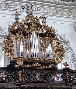 Leopold Freundt Chororgel St. Florian 1699.jpg