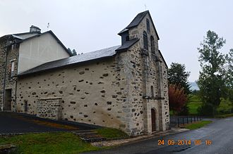 Les Angles-sur-Corrèze - The Church of the Nativity of Notre-Dame
