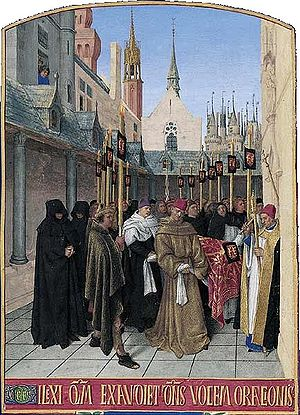 Jean Fouquet - Image: Les funérailles d Étienne Chevalier